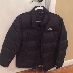 Like new Boys XL (18/20) black North Face jacket